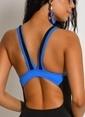 Dagi Kalın Askılı Yüzücü Mayo Mavi